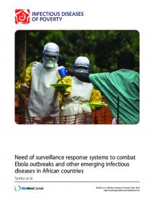 Need of surveillance response systems to combat Ebola outbreaks ...