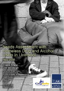 Needs Assessment with Homeless Drug ... - Centre for Public Health