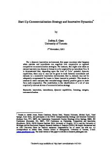 Negotiating for the Market - SSRN