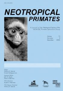 Neotropical Primates 13(3), December 2005 - CiteSeerX