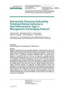 Neovascular Glaucoma Induced by Peripheral ... - Semantic Scholar