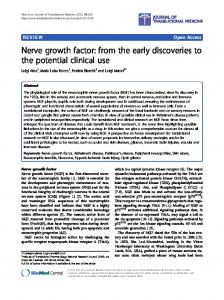 Nerve growth factor - BioMedSearch