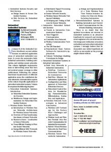 Networked Embedded Systems - IEEE Xplore