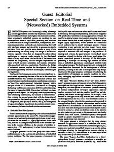 (Networked) Embedded Systems - IEEE Xplore
