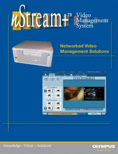 Networked Video Management Solutions - Olympus America