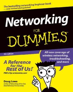 Networking for Dummies--For Dummies; 7th Ed. - UMM Directory