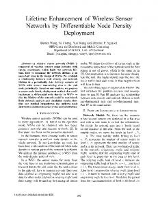 Networks by Differentiable Node Density - IEEE Xplore