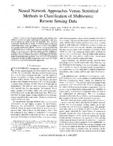 Neural Network Approaches Versus Statistical Methods In ...