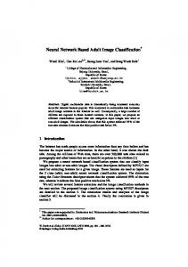 Neural Network Based Adult Image Classification - Semantic Scholar