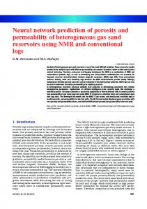 Neural network prediction of porosity and permeability ...
