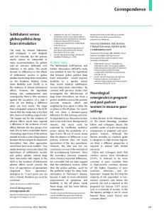 Neurological emergencies in pregnant and post-partum ... - The Lancet