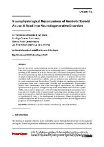 Neurophysiological Repercussions of Anabolic ...