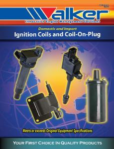 Walker Products 920-1002 Ignition Coil