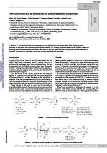 New aminocyclitols as modulators of glucosylceramide ... - Core