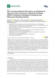 New Chromane-Based Derivatives as Inhibitors of ...