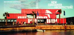 NEW CONTAINER ARCHITECTURE - Wardell+Sagan Projekt