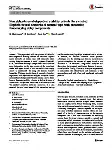 New delay-interval-dependent stability criteria for