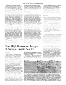 New HighResolution Images of Summer Arctic ... - Wiley Online Library