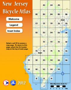 New Jersey Bicycle Atlas - State of New Jersey