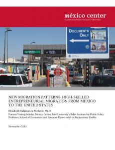 new migration patterns: high-skilled entrepreneurial migration from ...