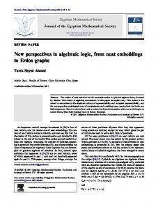 New perspectives in algebraic logic, from neat