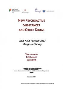 new psychoactive substances and other drugs - sicad