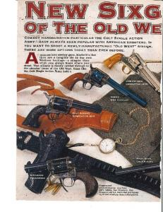 New Sixguns of the Old West - The National Firearms Museum