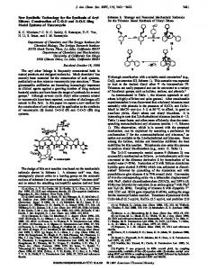 New Synthetic Technology for the Synthesis of Aryl Ethers - American ...