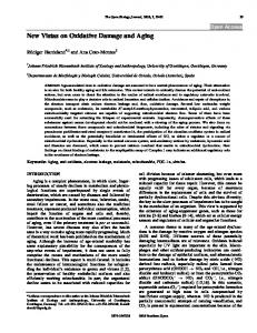New Vistas on Oxidative Damage and Aging - Bentham Open