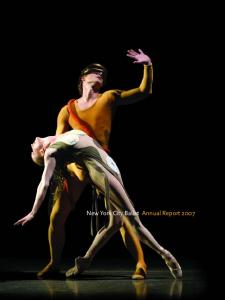 New York City Ballet Annual Report 2007