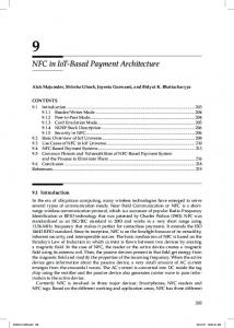 NFC in IoT-Based Payment Architecture