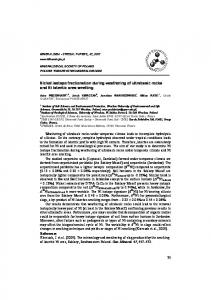 Nickel isotope fractionation during weathering of ...