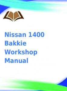 nissan frontier 2003 official workshop service manual ebook