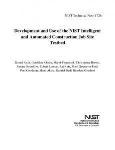 NIST TN - NIST Web Site
