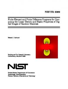 NISTIR 6269 - FTP Directory Listing - National Institute of Standards ...