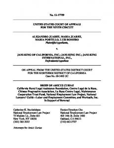 No. 12-17759 UNITED STATES COURT OF APPEALS FOR THE ...