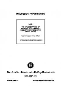 No. DPNumber - SSRN papers