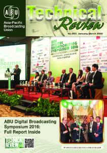 No.265 January-March 2016 - ABU- Asia-Pacific Broadcasting Union