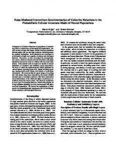 Noise-Mediated Intermittent Synchronization of Collective Behaviors in ...