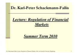 nomics of Money, Banking, and Financial Markets