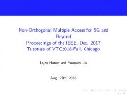 Non-Orthogonal Multiple Access for 5G and Beyond