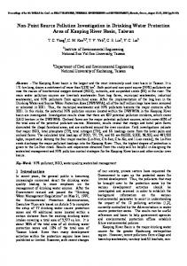 Non-Point Source Pollution Investigation in Drinking Water ... - wseas