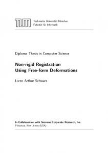 Non-rigid Registration Using Free-form Deformations - Chair for