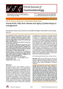 Nonalcoholic fatty liver disease and aging - F6Publishing