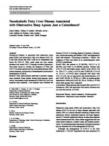Nonalcoholic Fatty Liver Disease Associated with ... - Arca - Fiocruz
