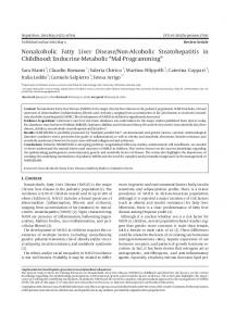 Nonalcoholic Fatty Liver Disease/Non-Alcoholic ... - BioMedSearch