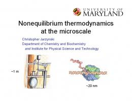 Nonequilibrium thermodynamics at the microscale