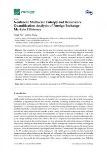 Nonlinear Multiscale Entropy and Recurrence