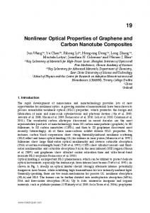 Nonlinear Optical Properties of Graphene and Carbon