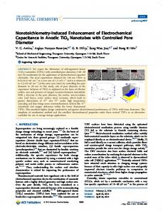 Nonstoichiometry-Induced Enhancement of ... - ACS Publications